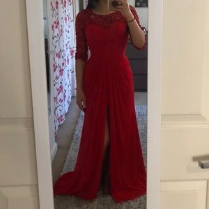 Red Prom Dress 2019 with Sequin